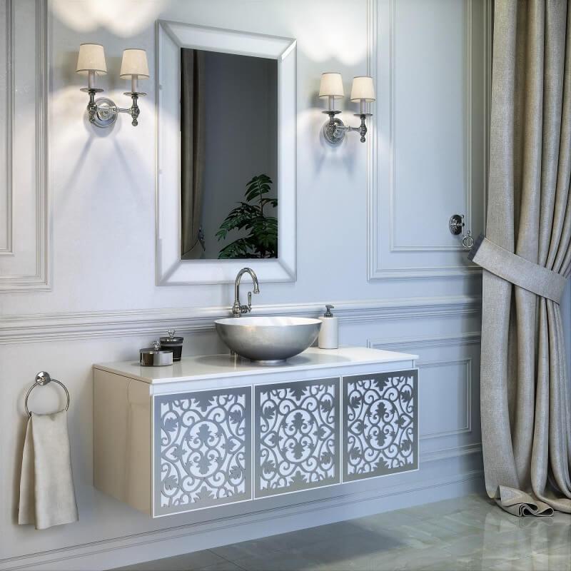 Роскошный комплект мебели для ванной комнаты Винцент Марсан