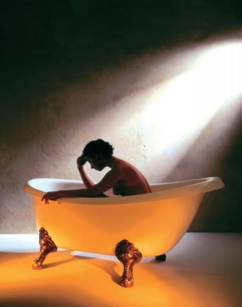 Ванна на львиных лапах Виктория