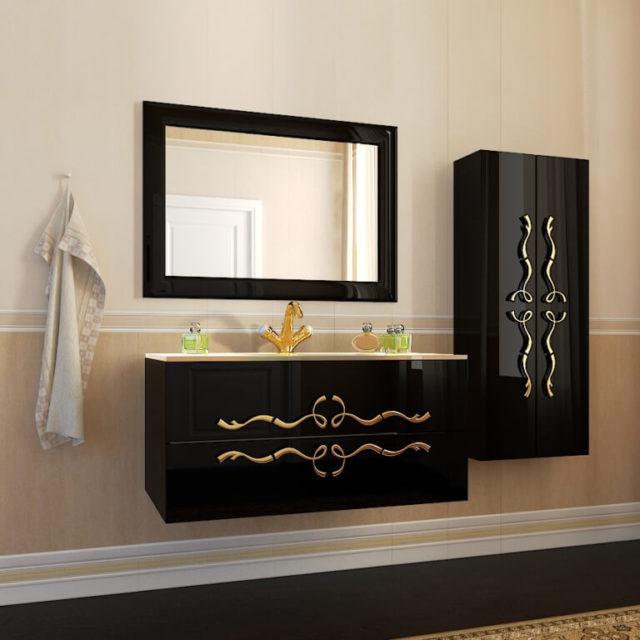 Купить подвесной классический комплект мебели для ванной комнаты Dominik (Доминик) Marsan, в Киеве