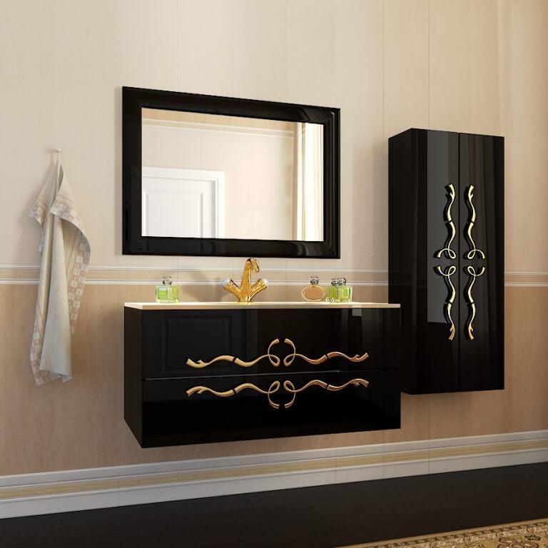 Купить классический комплект мебели для ванной комнаты Dominik (Доминик) Marsan, в Киеве
