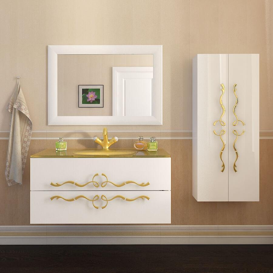 Классическая мебель для ванной комнаты «DOMINIK» Марсан (Марсан)