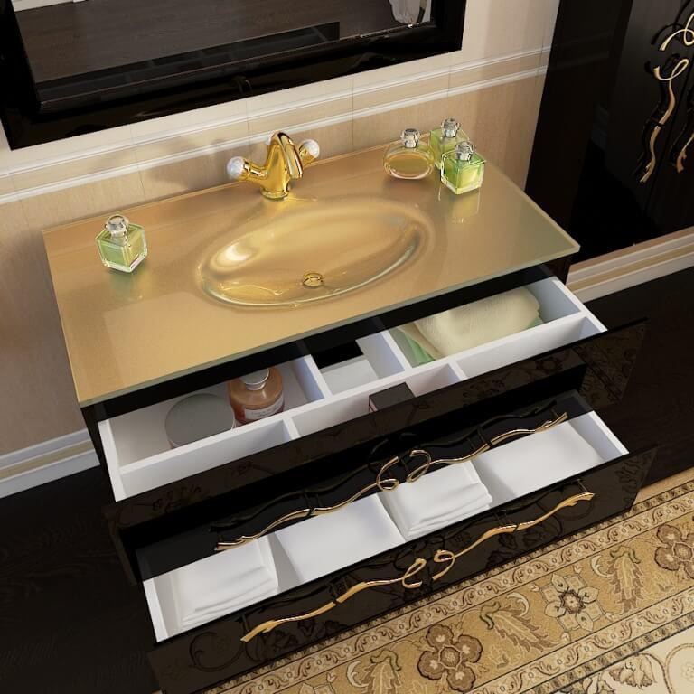 Классический комплект мебели для ванной комнаты Dominik (Доминик) Marsan, в Киеве