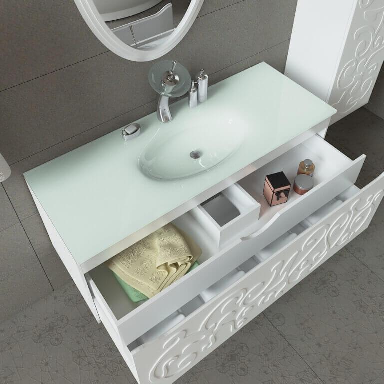 Мебель в ванную комнату Марсан