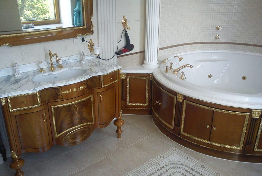 Заказать отделку для ванной комнаты в Киеве