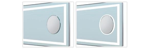 Интегрированные косметическое зеркало