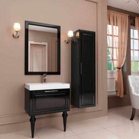 Классическая мебель для ванной комнаты, купить тумбу Patricia Марсан