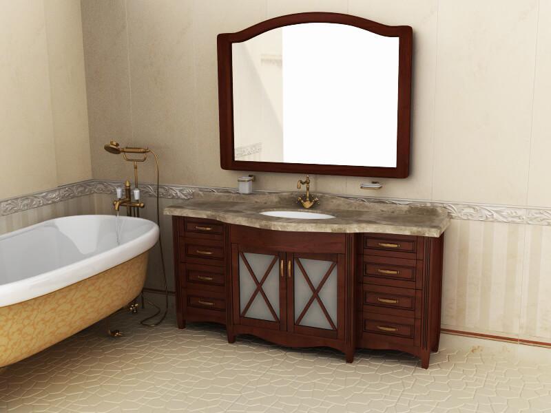 тумбы в ванную Ваші Меблі серия Аква
