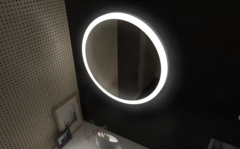Какие преимущества у зеркал с подсветкой (ЛЕД)?