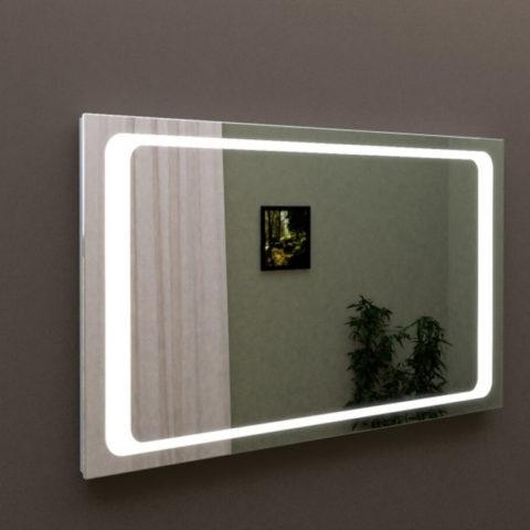 Зеркало с подсветкой в ванную комнату Марсан ЛЕД-1, купить в Киеве