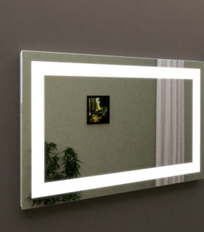 Лед зеркало в ванную комнату, зеркало с подсветкой МАРСАН (Marsan)