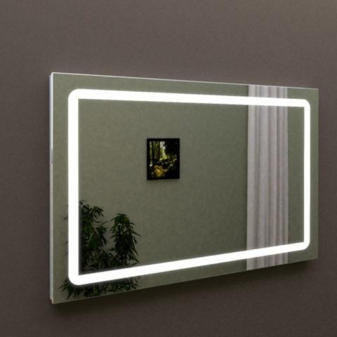 Зеркало Марсан с подсветкой для ванной комнаты, купить в интернет-магазине