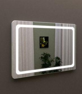 Зеркало с подсветкой в ванную MARSAN LED 07, купить ЛЕД зеркало в Киеве