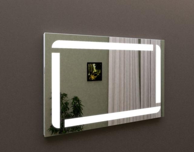 LED зеркало в ванную комнату, купить MARSAN ЛЕД 08 в Киеве, недорого