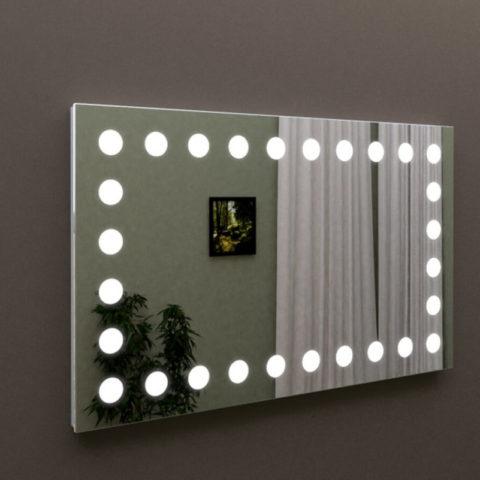 Зеркало с подсветкой в ванную, купить зеркало MARSAN LED 12, Киев