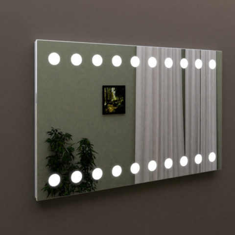 Зеркало с led подсветкой для ванной, купить MARSAN LED 14 в Киеве