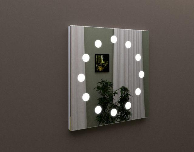 Лед зеркало для ванной комнаты, купить MARSAN LED 18 в интернет-магазине