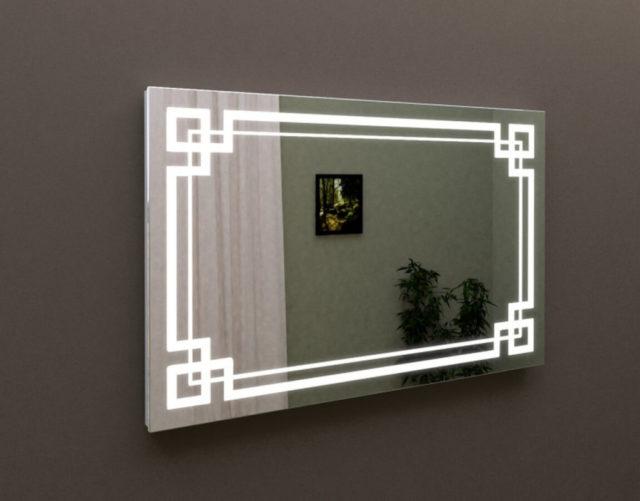 Зеркало с подсветкой в ванную комнату 60х80, MARSAN LED 22, купить