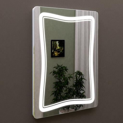 Зеркало с подсветкой в ванную 50 см MARSAN LED 24, купить в Киеве