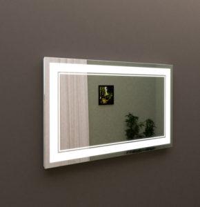 Зеркало с подсветкой в ванную 60 см, купить MARSAN LED 25 в Киеве