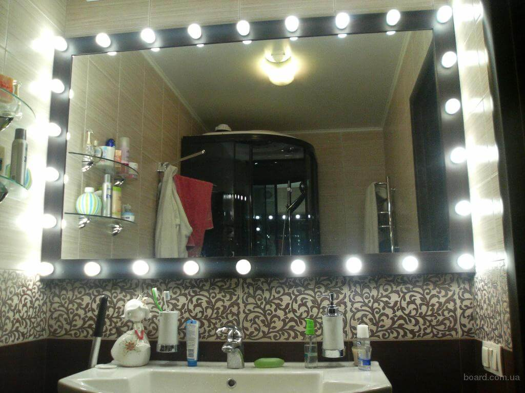 Зеркала с Лед подсветкой на заказ