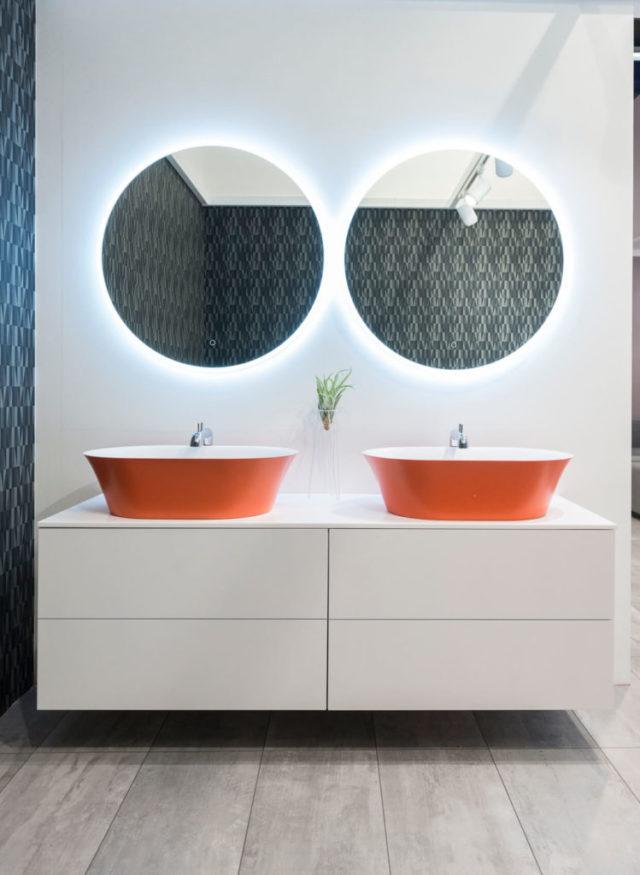 Стильная мебель в ванную комнату Balteco, гарнитур Alto, купить в Киеве