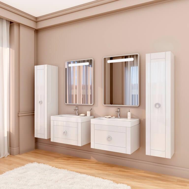 Шарлотта марсан на два умывальника для вашей ванной комнаты
