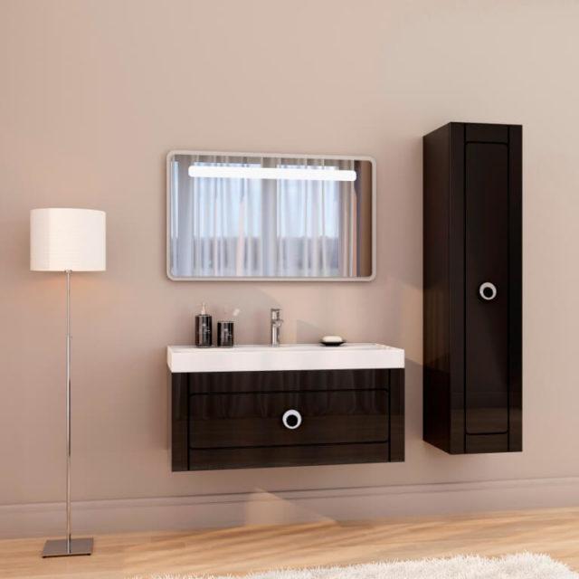 Гарнитур в ванную комнату с раковиной CHARLOTTAE Marsan, купить в интернет магазине Rodecs