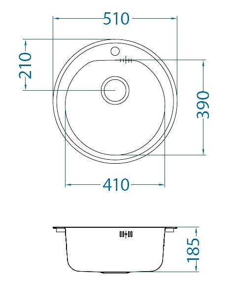 МодельMonarch Form 30 - круглая мойка, которая может выпускаться в четырех цветах:Антрацит, Бронза, Золото, Мед