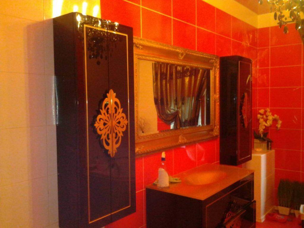 Купить классический комплект мебели в ванную комнату «CHRISTINE» (Кристина) Marsan, в интернет-магазине