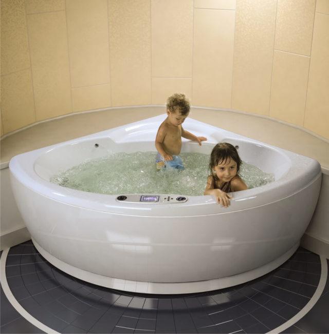 Акриловая ванна с гидромассажем WGT Mi Corazon в Киеве, купить ванну