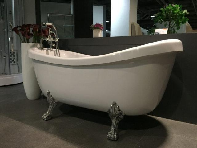 Отдельностоящая ванна на львиных лапах Appollo (Апполло) ТS-1705, купить с доставкой по Украине