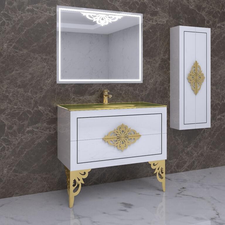 Ретро гарнитур для ванной Marsan Christine