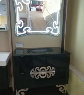 Классический гарнитур, комплект мебели в ванную комнату MALVINЕ Marsan