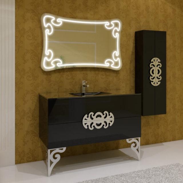 Купить классический гарнитур для ванной комнаты, MALVINЕ (Мальвина) Marsan, в интернет-магазине