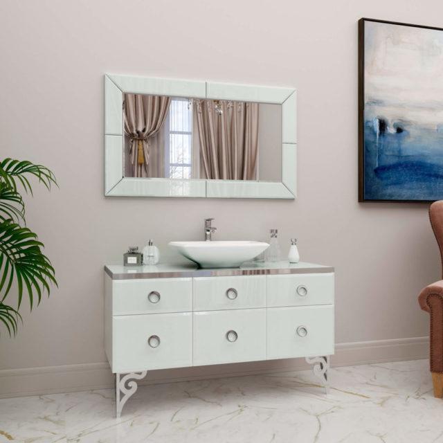 Купить мебель в ванную комнату в классическом стиле Марсан Мишель