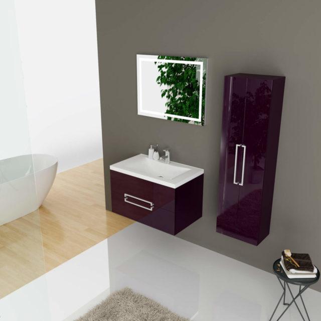 Стильный комплект мебели в ванную комнату «MONIQUE» Марсан