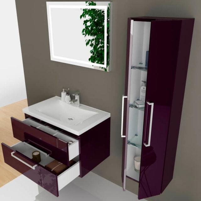 Купить стильную мебель в стиле арт-деко для ванной MONIQUE (Моника) Marsan, в интернет-магазине