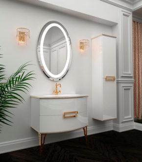 Комплект мебели для ванной комнаты в классическом стиле SABRINE Marsan, купить