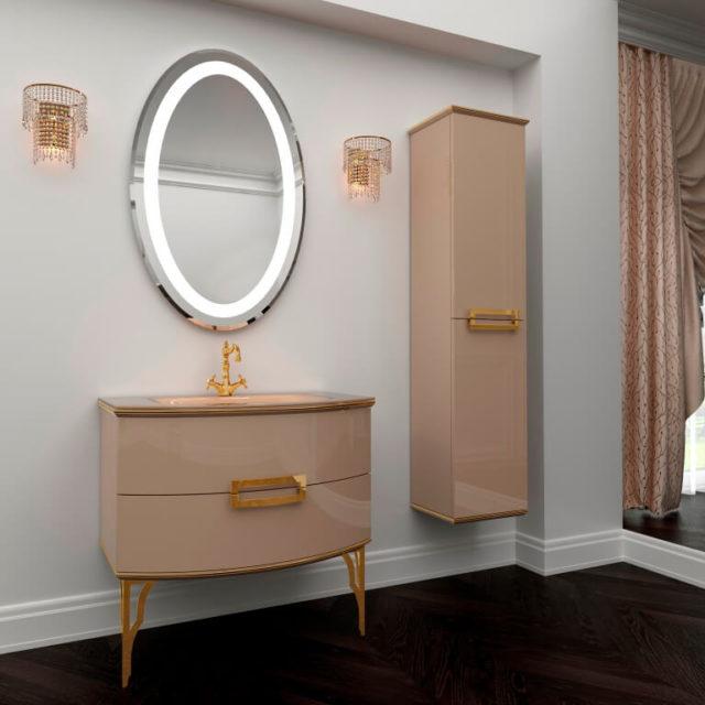 Заказать мебель для ванной комнаты Марсан - Сабрина