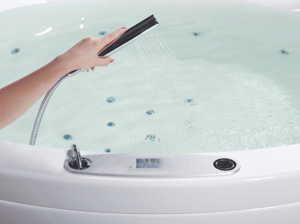 Функциональная ванна с гидромассажем NOSTALGIA Right/Left WGT