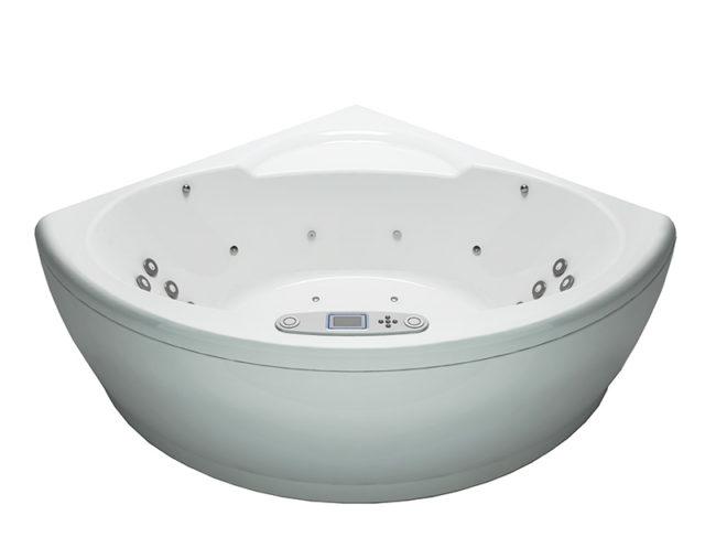 Современная акриловая ванна с гидромассажем, купить в Киеве ванну WGT Mi Corazon (Ми Корасон) Easy + Hydro