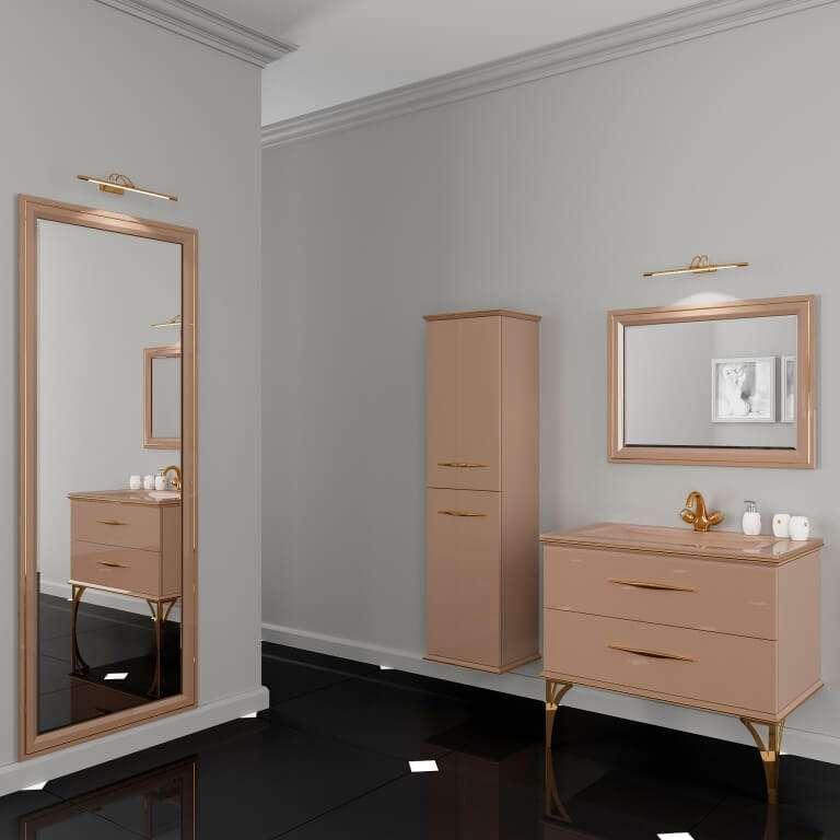 Купить гарнитурмебели для ванной в стиле арт-деко, комплект в ванную Cassandre Марсан