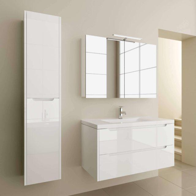 Мебель для ванной комнаты в стиле модерн Луиза Марсан