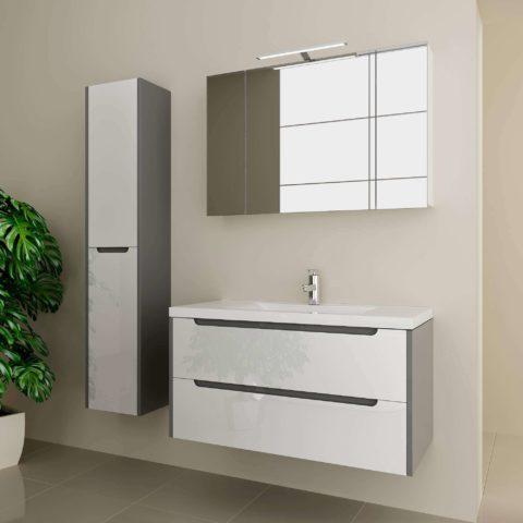 Стильная мебель в ванную комнату, гарнитур «LOUISE» Марсан, купить