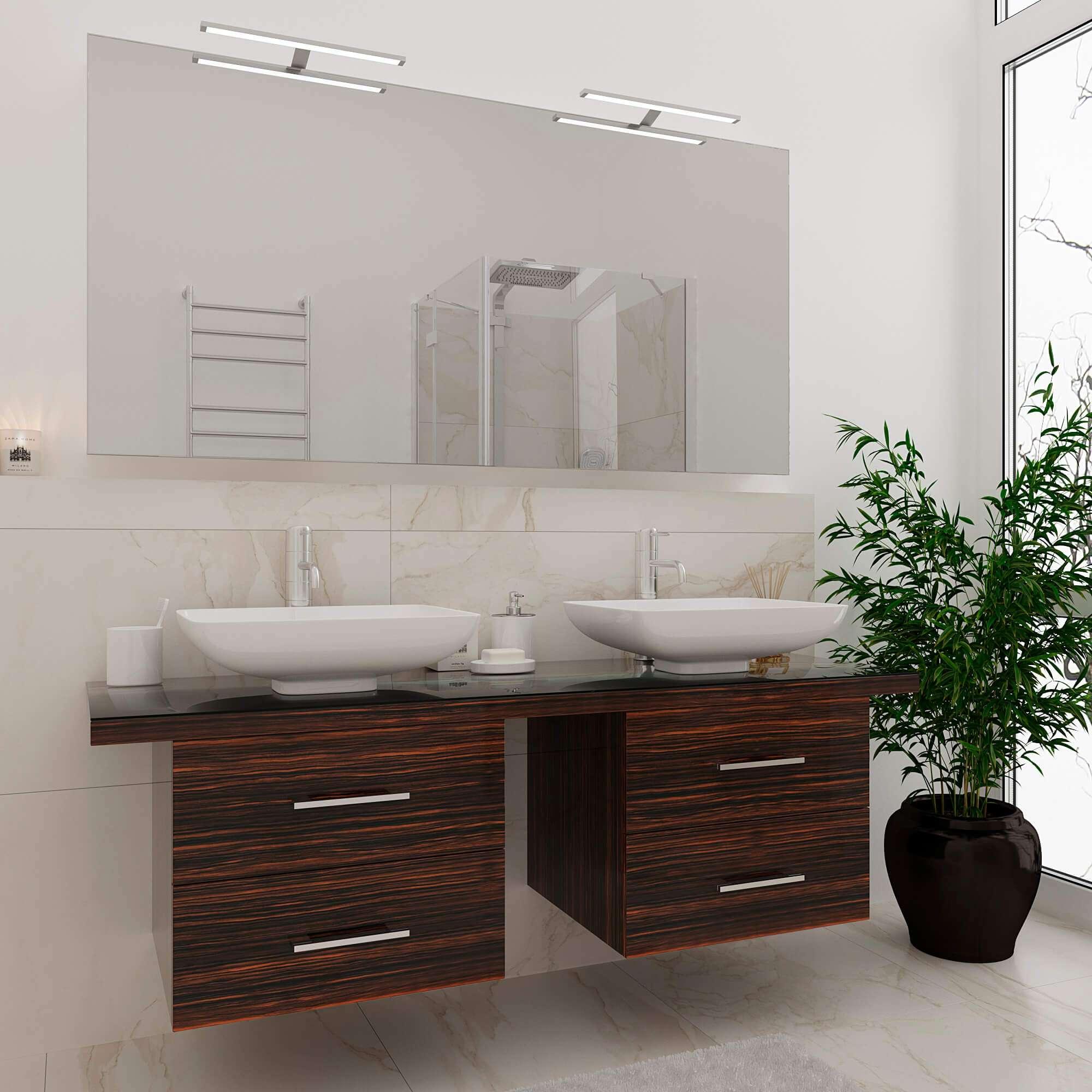 Купить стильный гарнитур мебели в ванную «MATTIAS» Марсан, в интернет-магазине