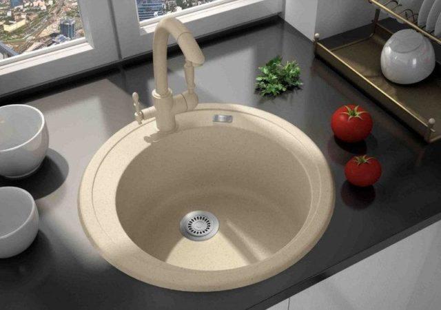 Купить гранитную кухонную мойку Argo (Арго) TONDO (Тондо) 510х200, в интернет-магазине