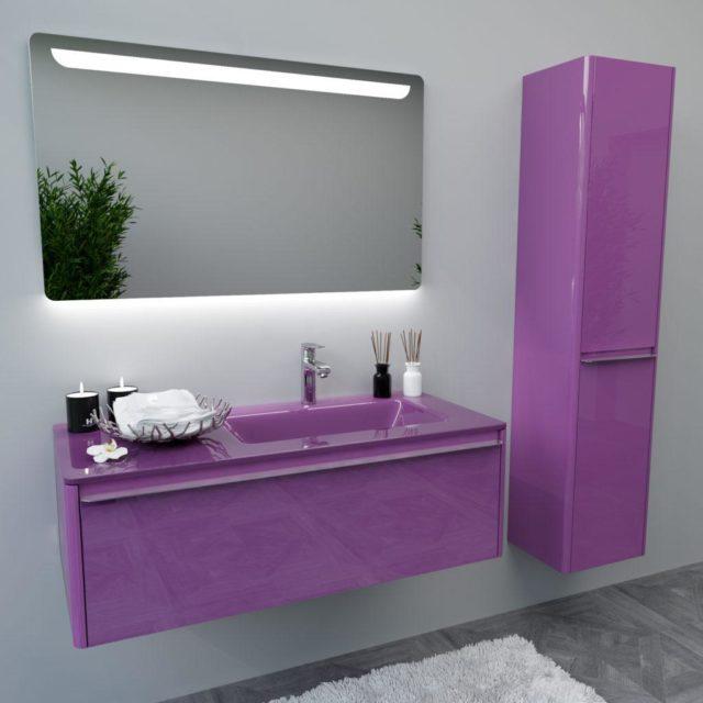 Тумба в ванную в современном стиле BRIGITTE-1 Марсан