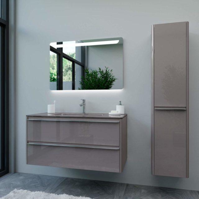 купить BRIGITTE-2 комплект мебели для ванной комнаты Марсан