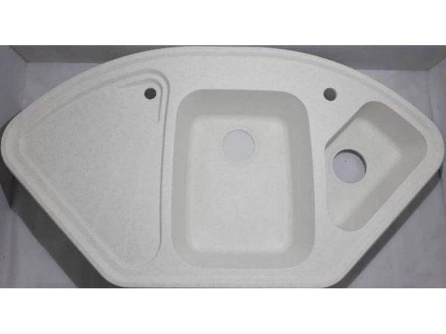 Мойка для кухни из камня Арго Трапезио TRAPEZIO 1060х575х190