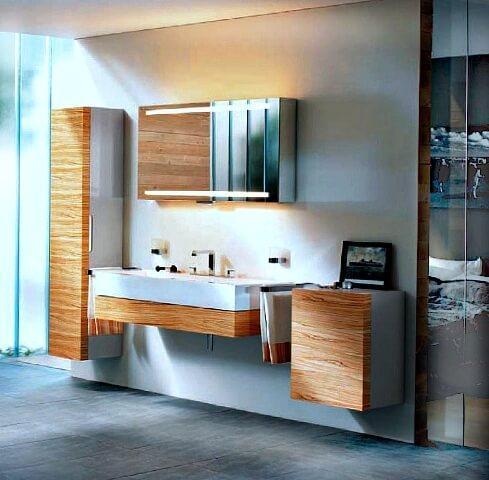 мебель по вашим размерам на заказ - стиль модерн с фасадами из массива дерева